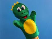 Lil' Iguana Hand Puppet