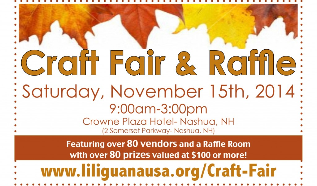 craft fair raffle 2014 lil 39 iguana On craft fair nashua nh