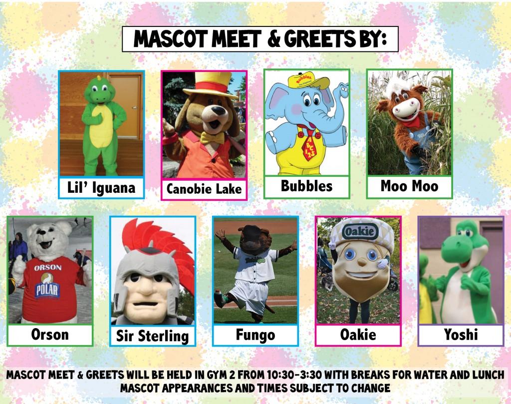 FFD MAY Mascots 2014