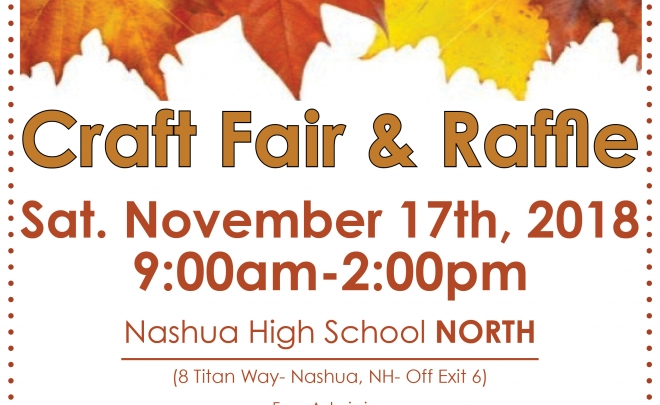Craft Fair & Raffle Website 2018