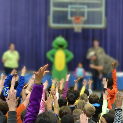 mt pleasant raising hands